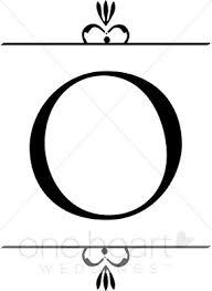 wedding monogram o clipart wedding monograms
