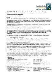 architektur studiengã nge anlagenverzeichnis hochschule 21