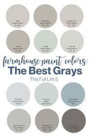 best greige cabinet colors farmhouse paint colors 12 best gray paints this 5