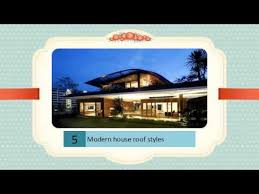 Modern House Roof Design Modern House Roof Styles Best Collection Of Pics Story Youtube