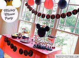 amazing mickey mouse decoration party ideas home design image