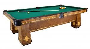 brunswick monarch pool table medalist with ball return peters billiards