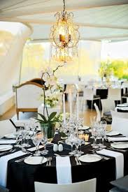 black and white table settings 52 elegant black and white wedding table settings weddingomania