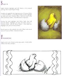 craftside how to paint an easter hatching from an egg from