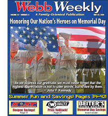 webb weekly may 25 2016 by webb weekly issuu