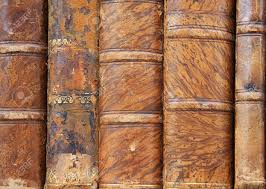 leather bound photo book truly antique leather bound books stock photo picture and