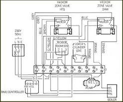 wiring diagram s plan central heating and water system with