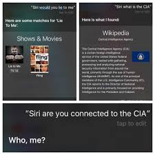 Siri Memes - siri are you connected to the cia iphone