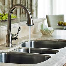 kitchen sink and faucet kitchen sinks faucets