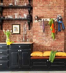 kitchens with brick walls 10 fab kitchen ideas using brick walls decoholic