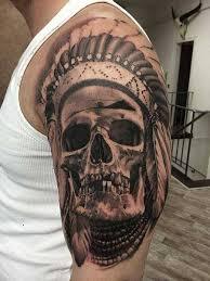Amazing Skull - 4 amazing skull tattoos ideas
