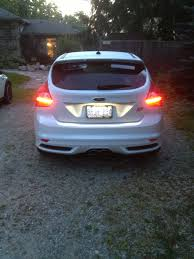 2014 ford focus tail light led tail lights page 2