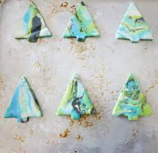 marbled salt dough ornaments i nap time