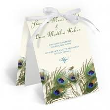Peacock Wedding Programs 26 Best Wedding Programs Images On Pinterest Wedding Programs