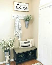 Bench By Front Door Best 25 Small Entryway Bench Ideas On Pinterest Small Entryways