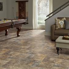 Laminate Flooring For Basement Resilient Modular Slate Vinyl Floor For Basement Kitchen Foyer