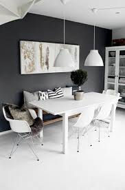 black and white dining room best 25 black dining rooms ideas on