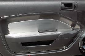 mustang door panel acc ford mustang 2005 2009 brushed door panel trim