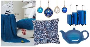 Interior Home Accessories Blue Home Accessories