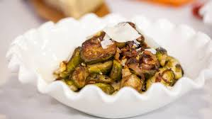 thanksgiving brussel sprouts bacon lidia u0027s sauteed brussels sprouts with walnuts and bacon today com