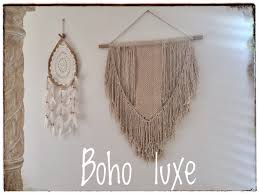 bohemian macrame wall hanging tropical interiors tropical interiors tropical tribal coastal boho home decor accessories