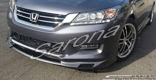 honda accord 2011 custom honda accord sedan front add on lip 2013 2015 390 00 part