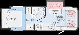 Rv Floor Plans Class A Winnebago View Profile Class C Rv Dealer
