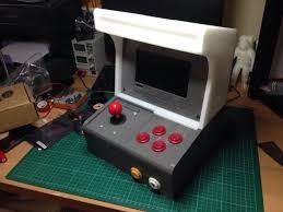 raspberry pi mame cabinet 3ders org create a 3d printed arcade cabinet using a raspberry pi