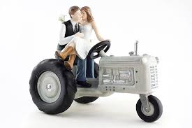 western cake topper tractor western cake topper wedding collectibles