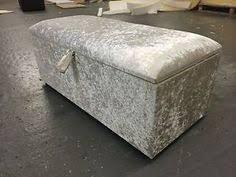 beautiful large silver crush velvet fabric crystal diamante