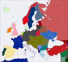 Map Of Europe 1914 Redrawing The Map Inside Map Of Europe 1919 Map Of Europe 1919