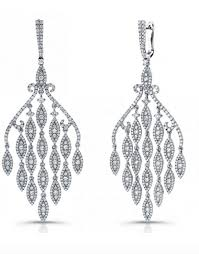 white gold chandelier earrings how to choose the best earrings for your face shape