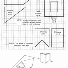 pattern for large gingerbread house gingerbread house plans lovely best victorian printable patterns