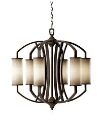 Murray Feiss Bathroom Lighting by Murray Feiss F2564 6 Logan 30 Inch Wide 6 Light Chandelier
