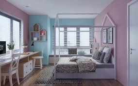 chambre bleu fille chambre d enfant en bois clair et tons pastel un espace scandinave