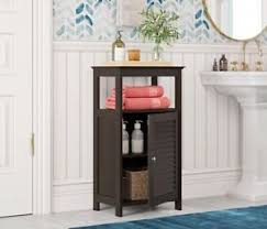 small storage cabinet with doors for kitchen details about small floor cabinets with doors for bathroom kitchen storage cabinet espresso
