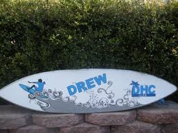 Surfboard Bar Table 4ft Surfboard Wall Decor Art Sign Hand Painted Personalized Custom