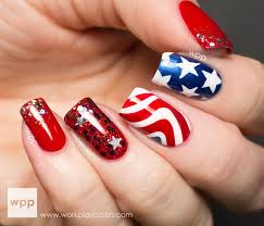 66 best 4th of july nail art images on pinterest july 4th 4th