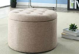 Round Cocktail Ottoman Upholstered by Ottoman Round Fabric Ottoman Round Fabric Upholstered Ottoman