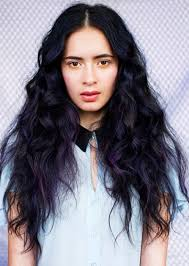 chunking highlights dark hair pictures black hair with violet highlights pictures