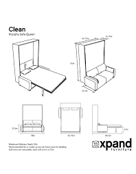 murphysofa clean expand furniture