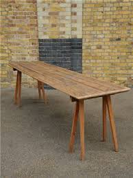 Skinny Kitchen Table by Dining Table Cool Reclaimed Wood Dining Table Marble Top Dining