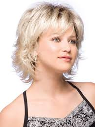 how to cut a short ladies shag neckline like a shorter shag the bangs are usually cut to match the length