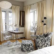 Black Ivory Curtains Ivory Drapes Design Ideas