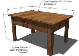 Free Woodworking Plans Coffee Table by Ana White Lucille Coffee Table Diy Projects