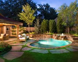 Small Backyard Ideas With Pool Pleasant Backyard Design With Pool Images Of Lighting Design Title