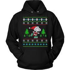 snoopy christmas sweatshirt snoopy on skate christmas sweatshirt hoodie vietees shop