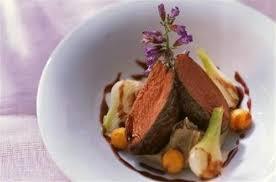 chevreuil cuisine filet de chevreuil et purée aux marrons