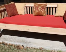 Wooden Outdoor Daybed Furniture by Outdoor Daybed Etsy