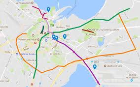 Google Maps Traffic Digital Summit To Affect Traffic In Tallinn From Thursday Through